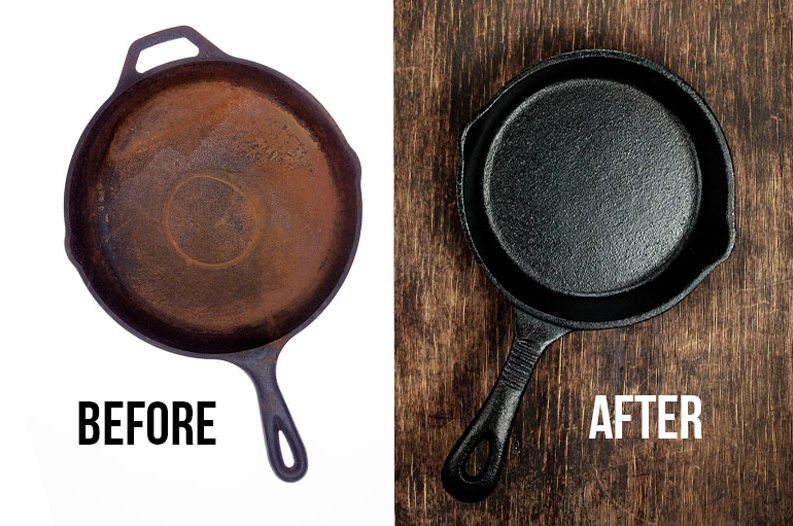 How to Clean a Burnt Pan with Salt and Lemon