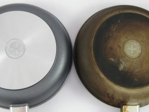 How to Clean a burnt pan with salt