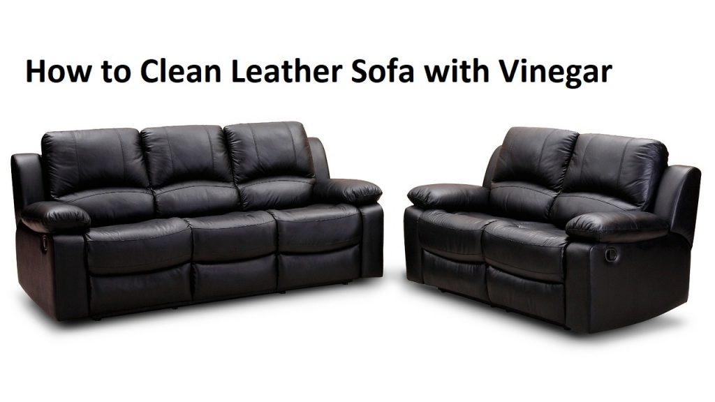 How to Clean Leather Sofa with Vinegar
