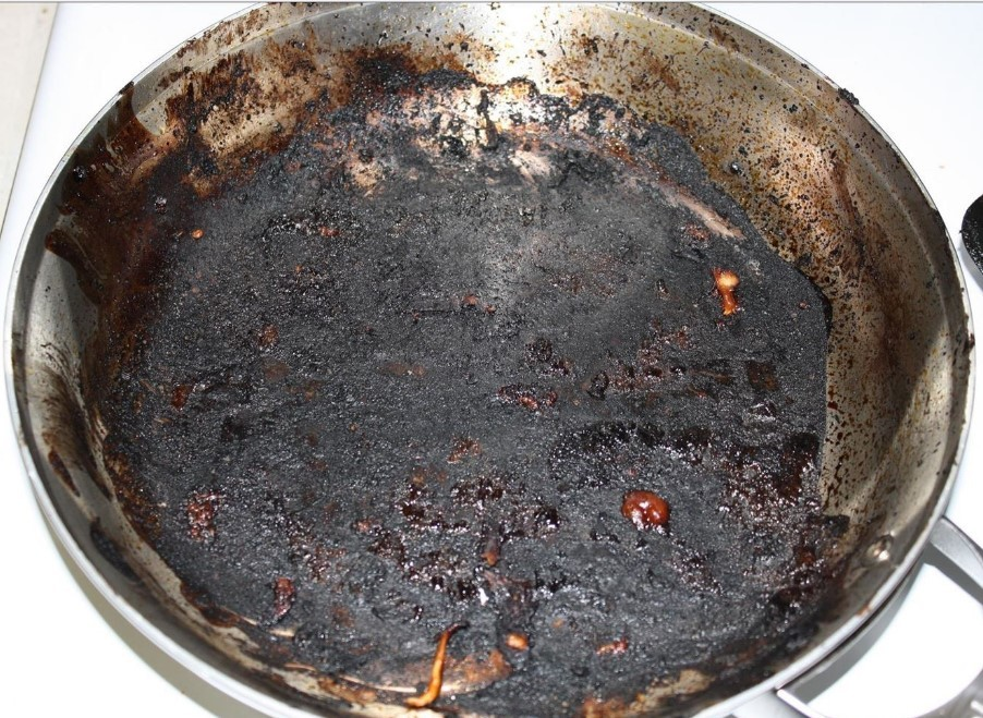 How to Clean Burnt Pan with Dryer Sheet