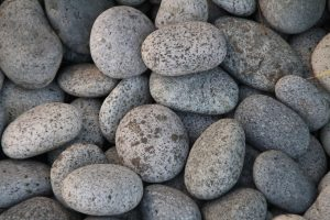 river rocks home decoration