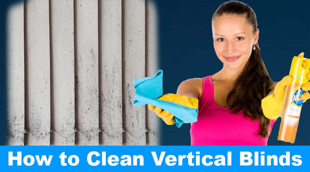 How To Clean Vertical Blinds Without Taking Them Down A