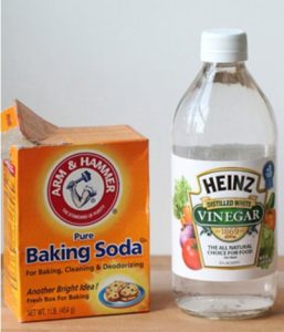 How to Clean Iron Plate when Burnt using Baking Soda and White Vinegar