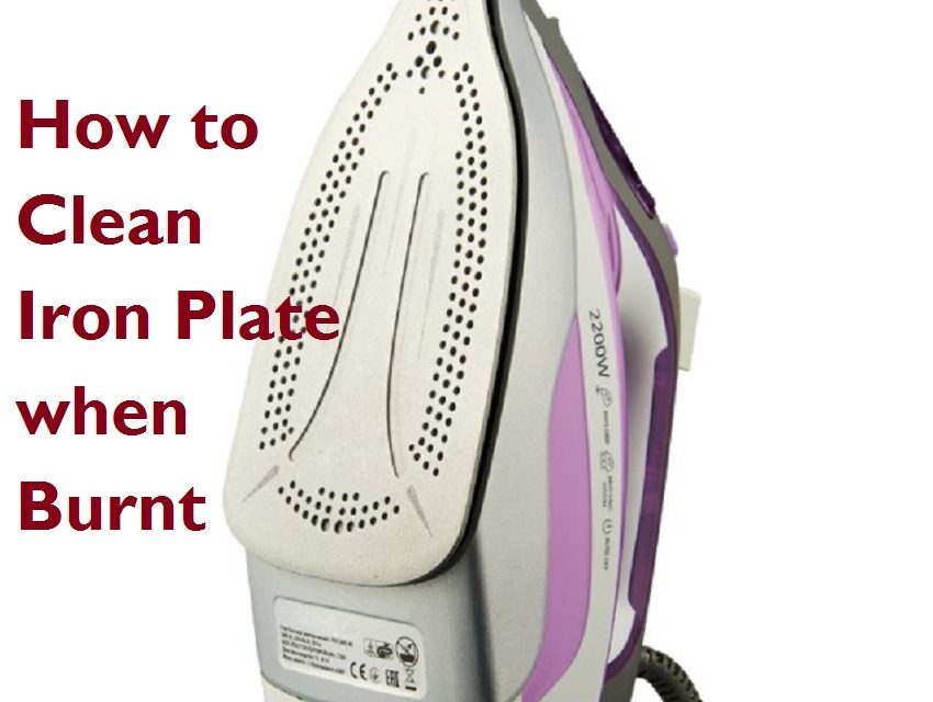 How to Clean Iron Plate when Burnt-7 Easy Ways