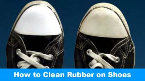 Clean Rubber on Shoes