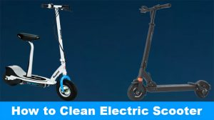 How to Clean Electric Scooter