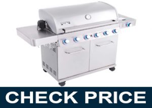 Monument Grills 77352 6-Burner Stainless Steel Propane Gas Grill