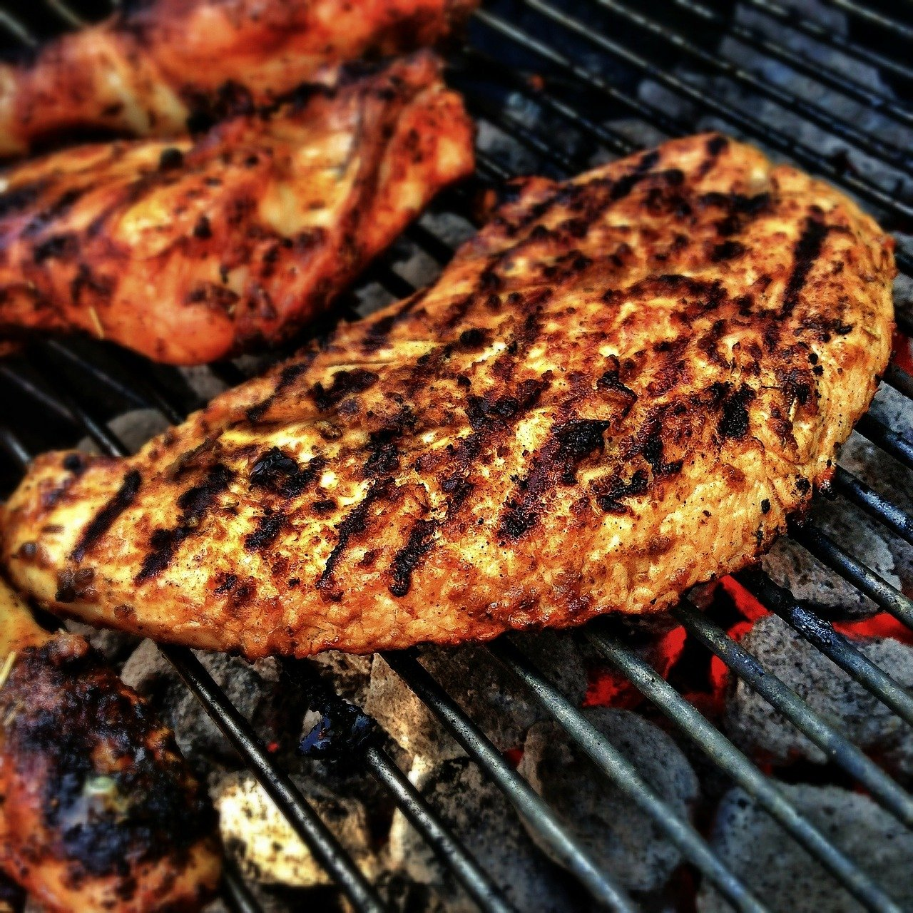 How to grill chicken breasts